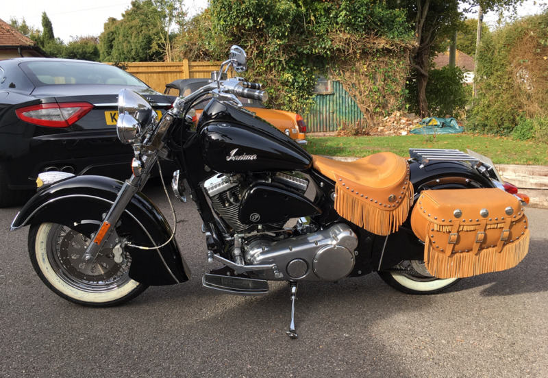 Indian Chief Vintage (not Harley Davidson), 250 miles only