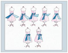 How To Tie A Bow On A Dress Google Search Bows How To Tie Ribbon Diy Bow