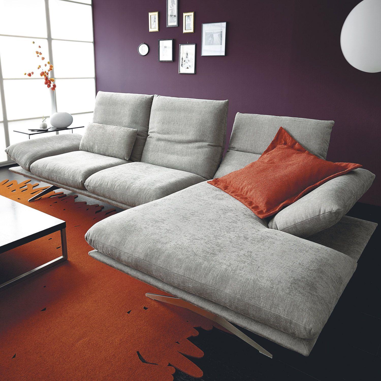 Koinor Wohnlandschaft Francis In Grau 2699 00 Couch Sofa Sofa