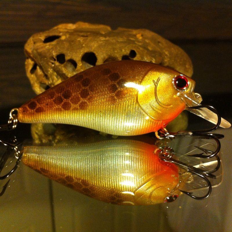 Ezs custom wrapped new 2.5 Deep diver  crankbait BLUEGILL