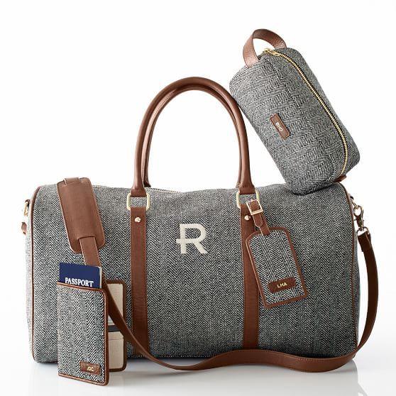 ... best weekender bags 2015 here. Herringbone Luggage Tag 12cc15047b85a