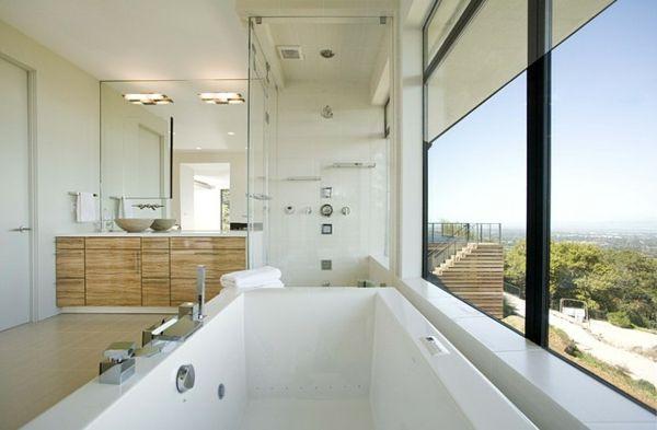 Größe Badewanne spa badewanne zu hause geräumig große panorama fenster jpg 600 393