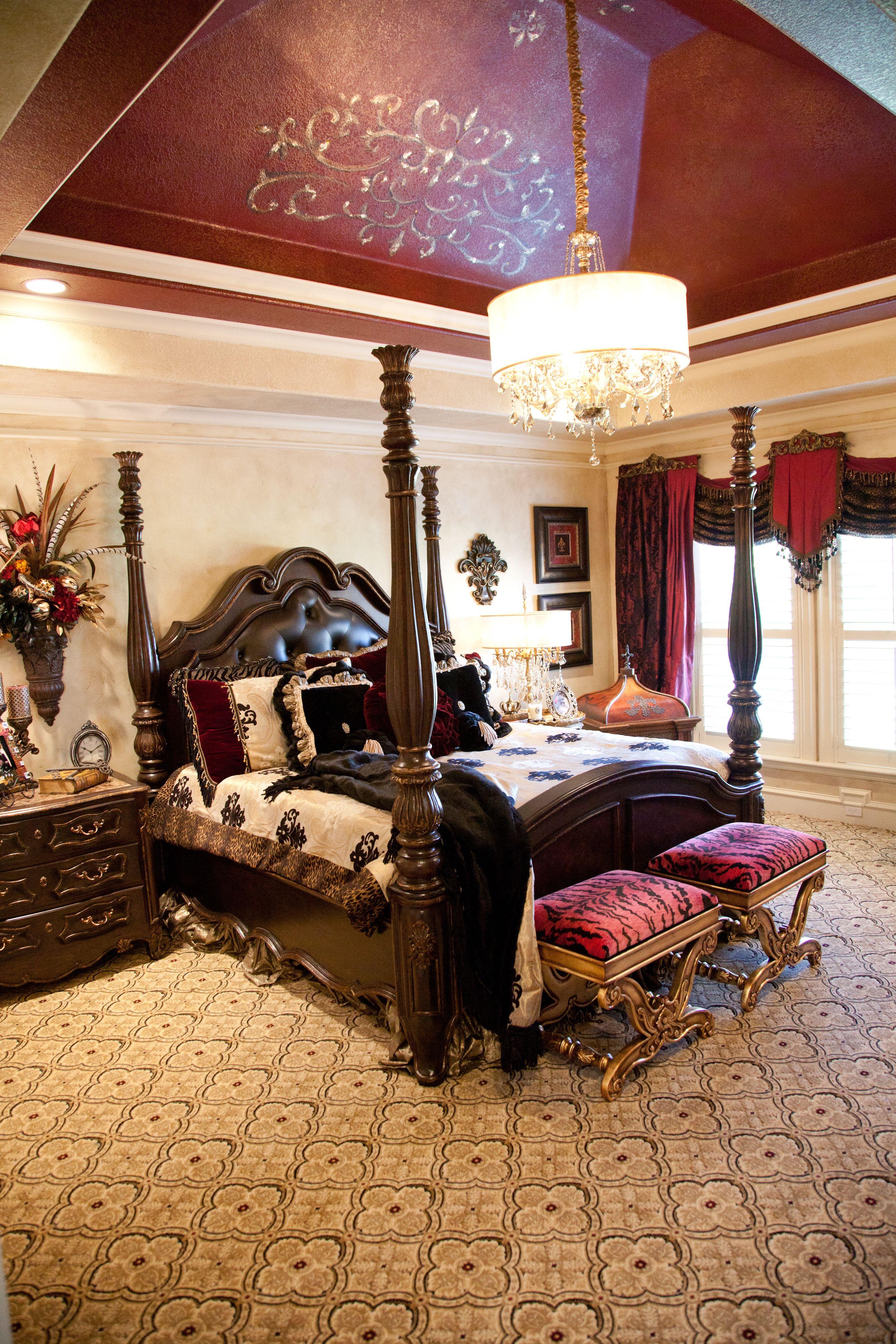 Ceilings This Large Make This #Bedroom Look Twice As Big