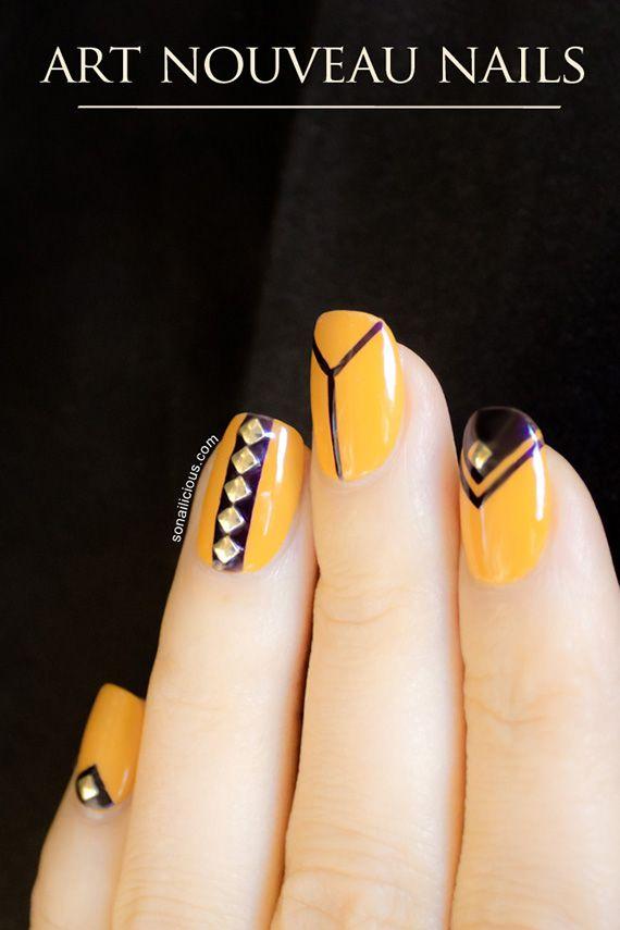 Ideas para pintar tus uñas de color amarillo - Yellow Nails ...