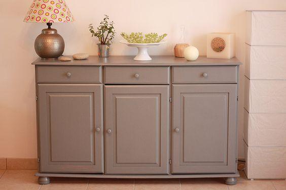 repeindre meuble en bois avec peinture Casto Gris gris 2 meuble