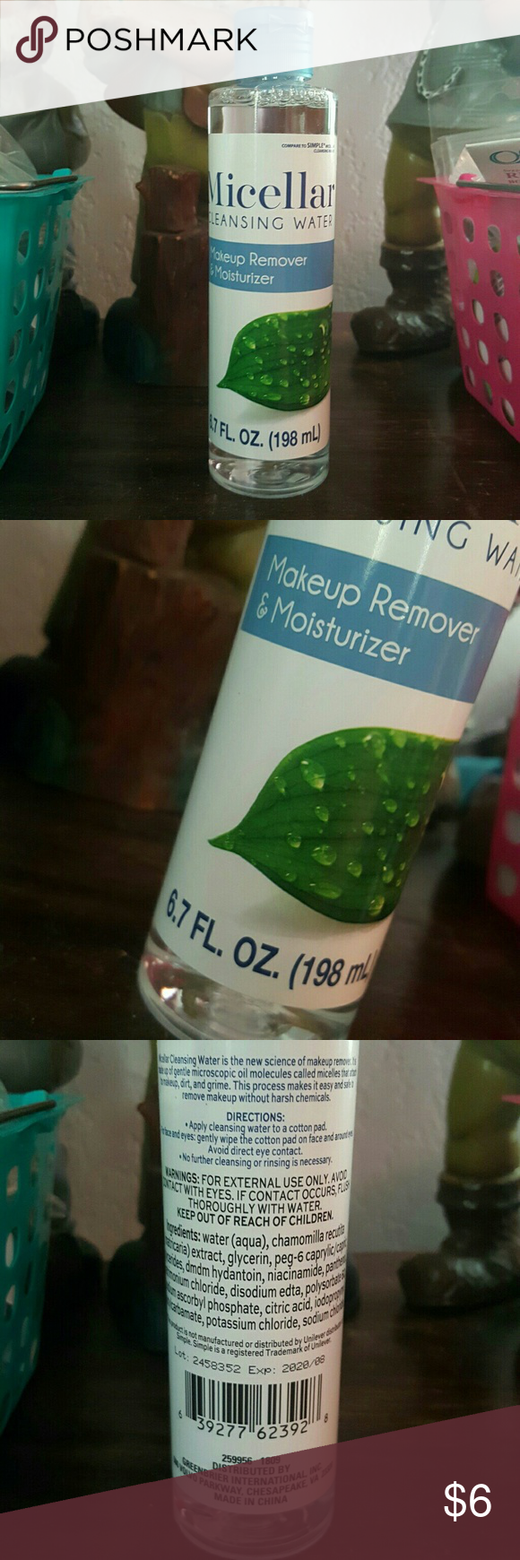 Micellar Water😊 (With images) Micellar water, Cleansing