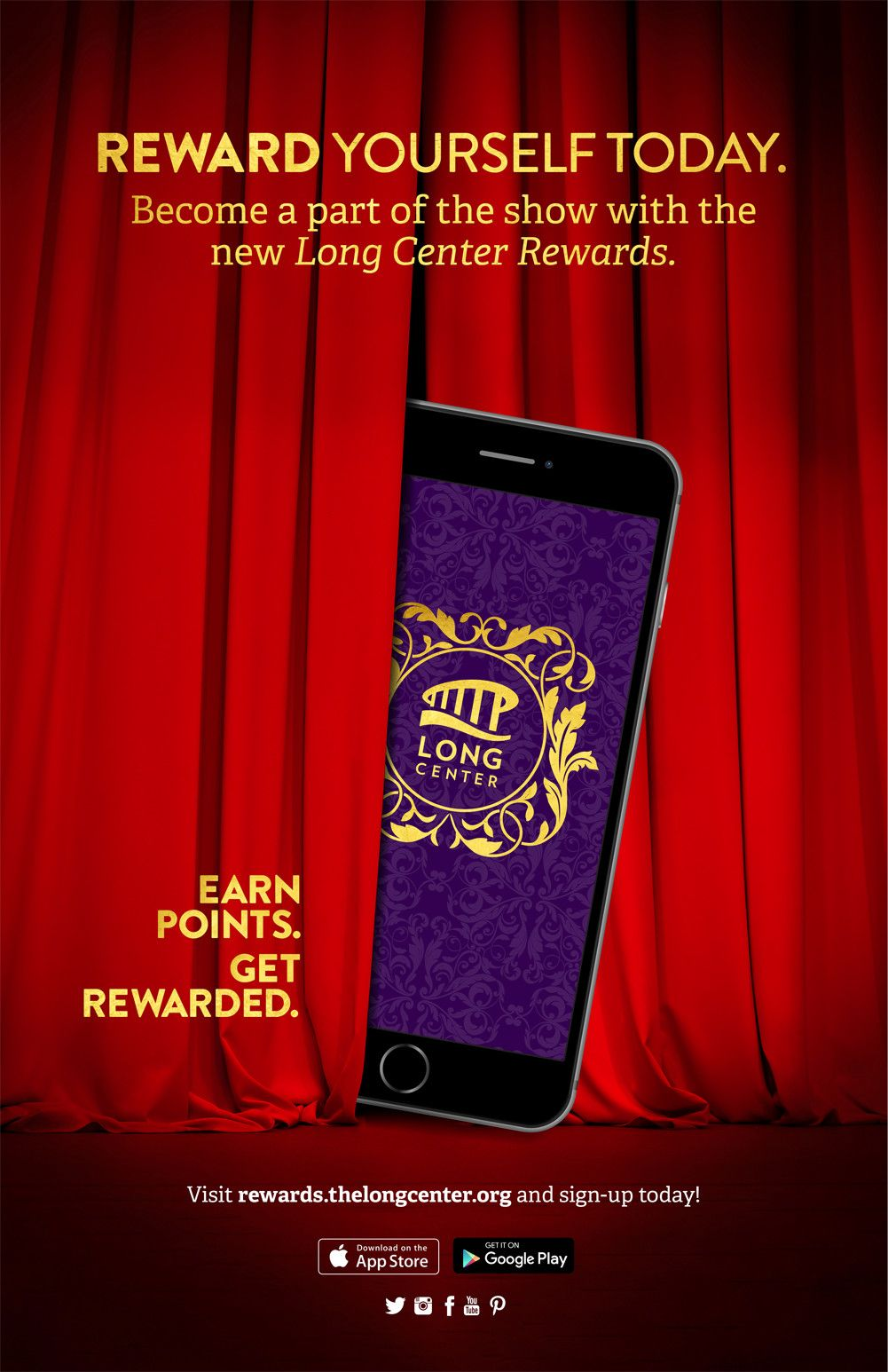 Love The Long Center Theres An App For That Earn Points For Doing