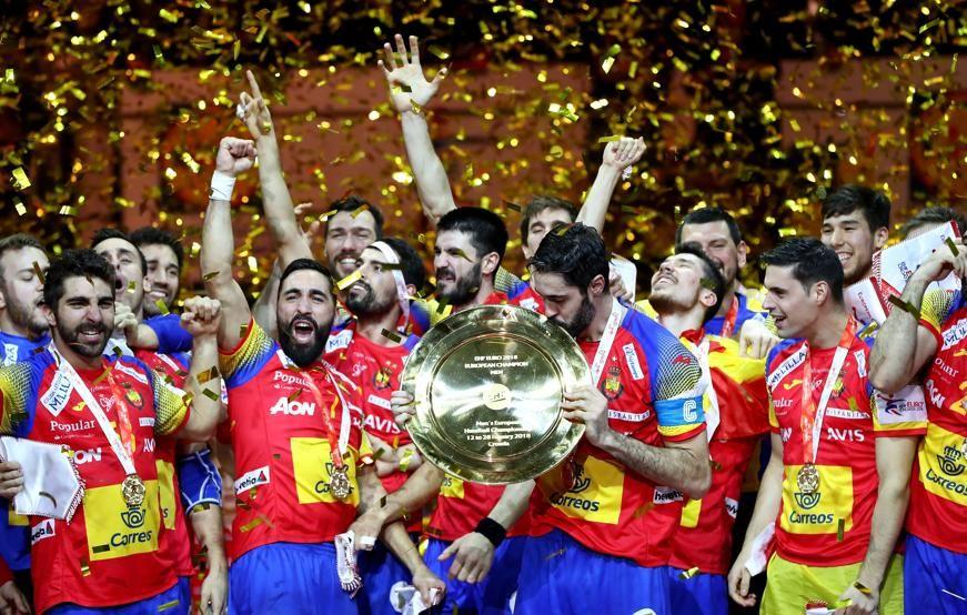 España De Balonmano Campeones De Europa Al Derrotar A Suecia Balonmano Campeones Europa
