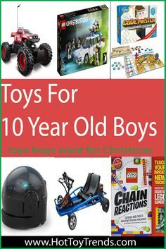Great Gifts For 10 Year Old Boys | 10 year old boy ...