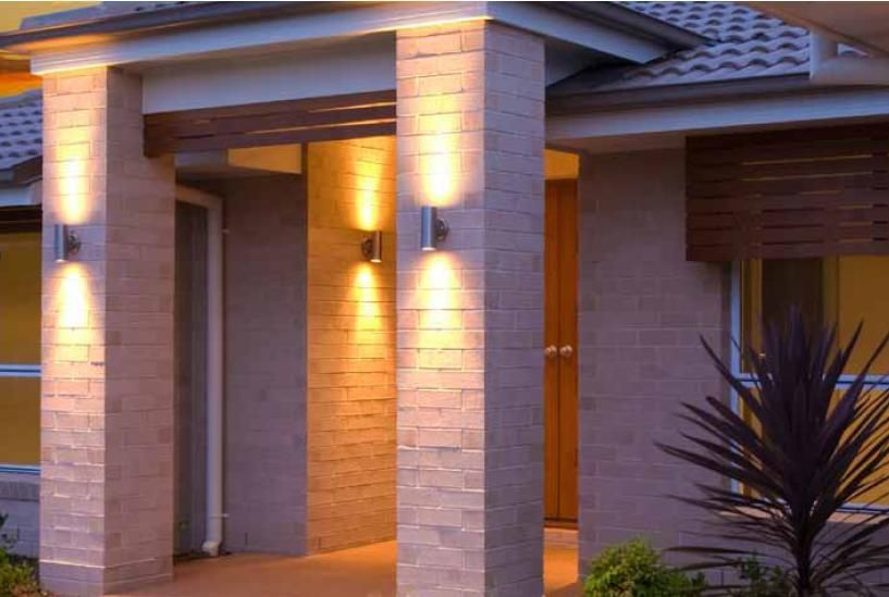Outdoor Up Down Wall Light Photo 7 Modern Exterior House Designs Exterior Wall Light Modern Outdoor Lighting
