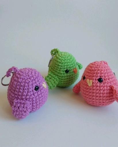 Aprende a hacer estos pajaritos a crochet !