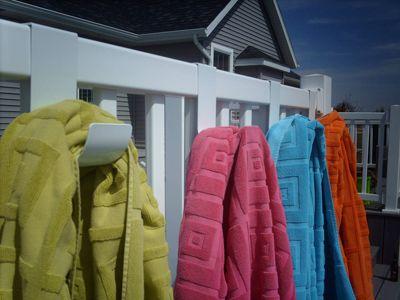 Fence Hooks For Vinyl Fence Vinyl Fence Pool Towels Pool Towel