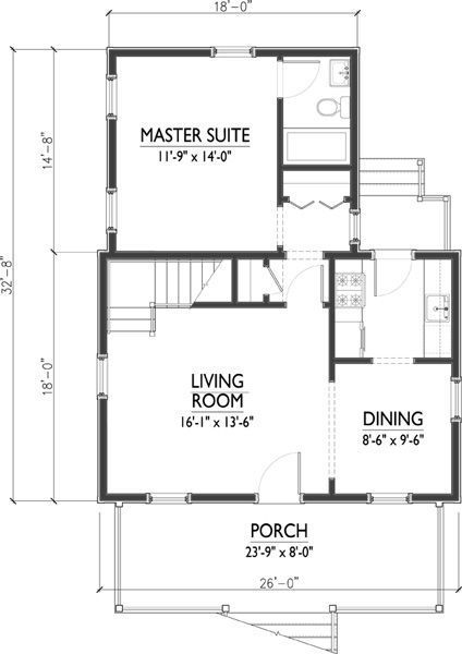 Small Cabin Plans With Loft Under 1000 Square Feet Yahoo Image Search Results Cottage Style House Plans Cottage House Plans Cabin Plans With Loft