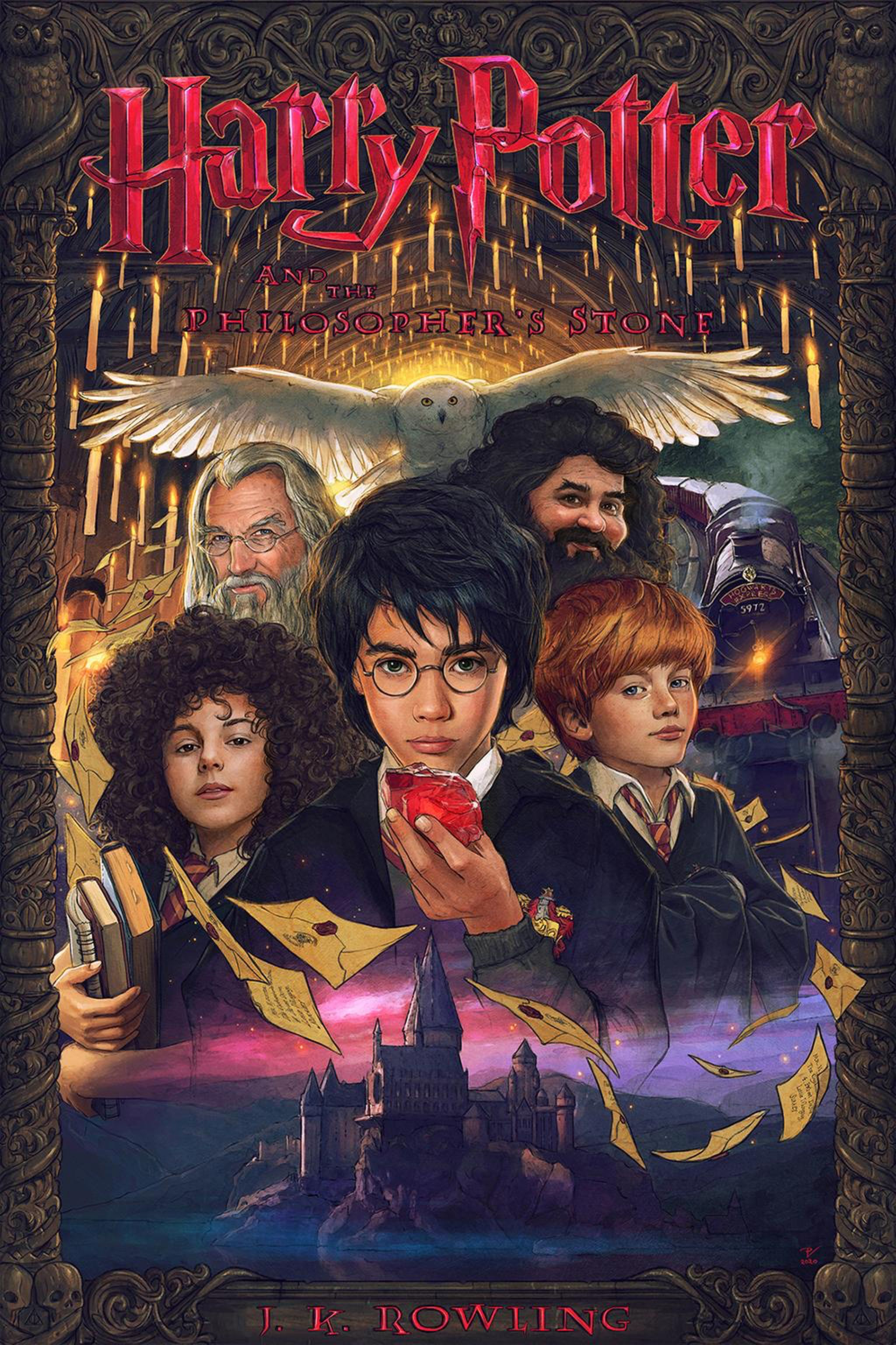 Harry Potter And The Philosopher S Stone By Vladislavpantic On Deviantart Harry Potter Book Covers Harry Potter Art Drawings Harry Potter Art
