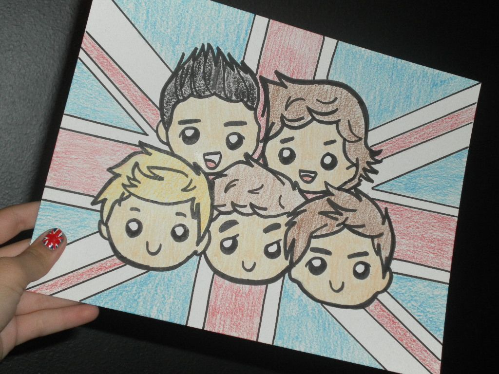 Except Ill Do The British Flag With Irish Colors For Niall