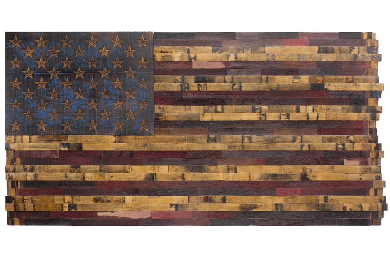 The Heritage Flag Company Custom Flags From Bourbon Barrels Theheritageflag
