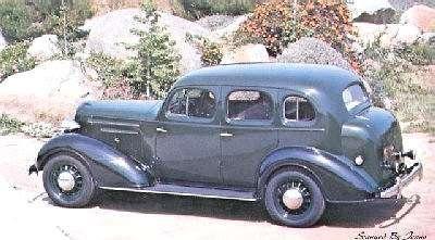 1936 Chevrolet Master De Luxe 4 Door Sports Sedan | (CARS