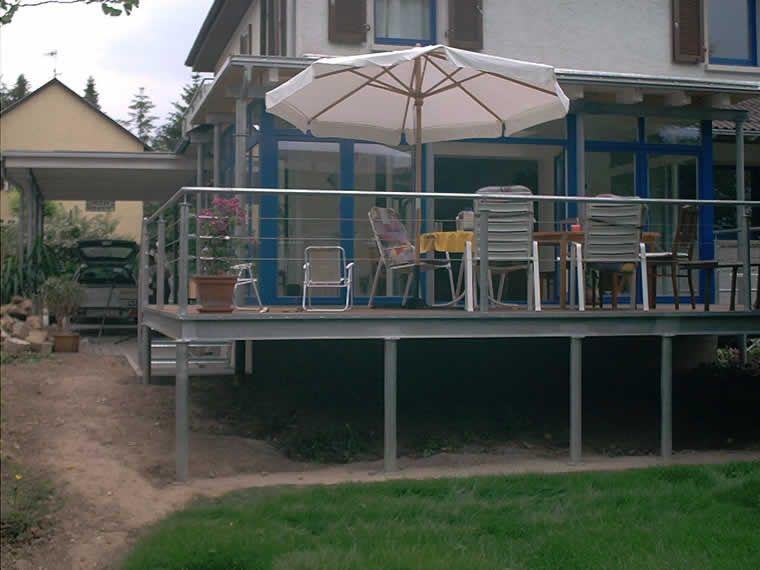 Top terrasse stahlkonstruktion - Google-Suche | Garden | Terrasse VX46