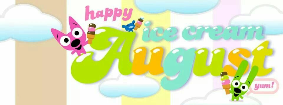Hoops YoYo Cover Page Happy Ice Cream August FB Photo