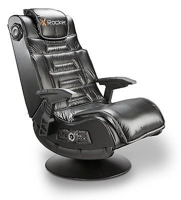 X Rocker Gaming Chair Video Wireless Game Chair Audio Xbox PS4 PS3 Nintendo  New