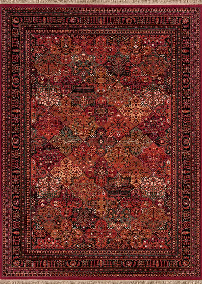 Kashimar Collection Imperial Baktiari Antique Red 8143 3203 Couristan Wool Area Rugs Rugs On Carpet