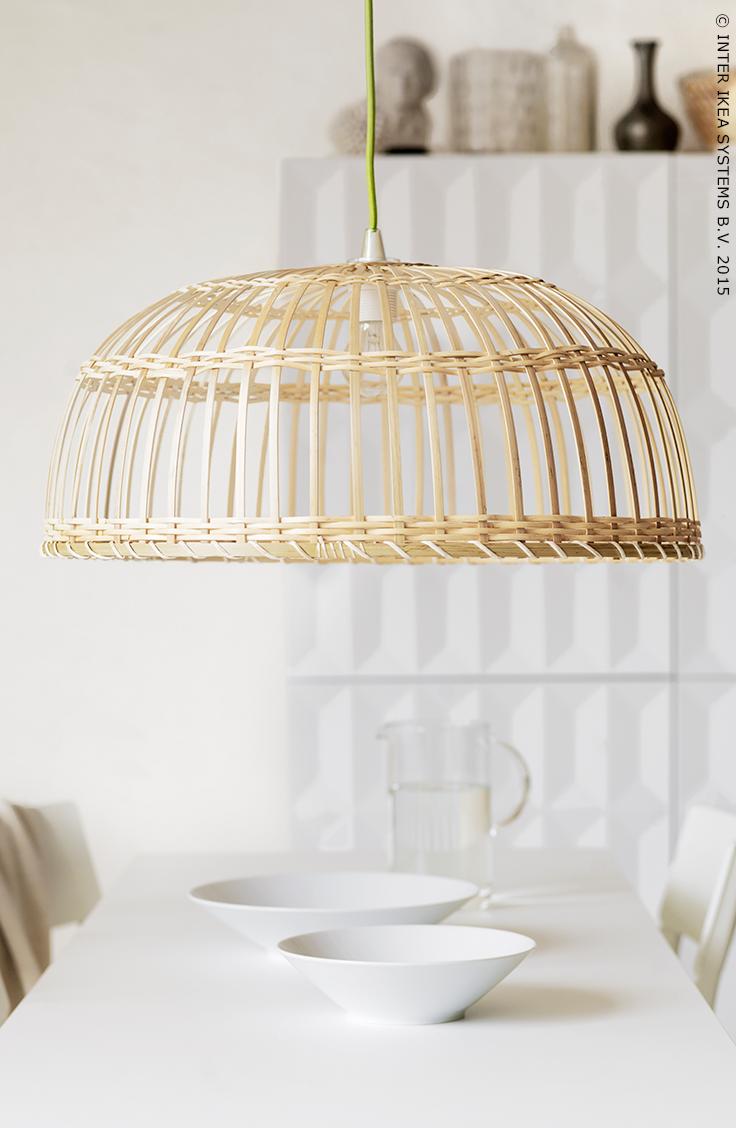 Abat Jour Ikea Bambou : bambou, L'abat-jour, NIPPRIG, Bambou, Diffuse, Lumière, Légère, Naturelle, Votre, Séjour, #IKEA, #NIPPRIG, Decoración, Unas,, Ikea,, Lámparas