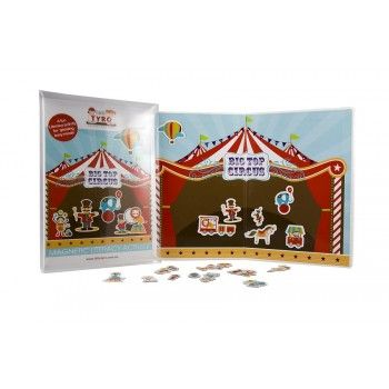 Little Tyro Magnetic Big Top Circus  The Magnetic 'Big Top Circus' Activity is a fun and creative learning tool that promotes confidence in Speaking and Listening.