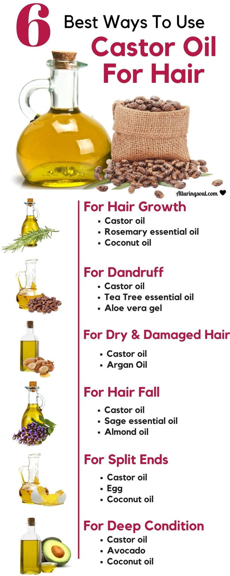 How to use castor oil for hair 68