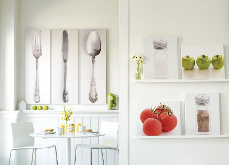 quadri moderni per cucina stampe tela componibili mondodesign paint ...