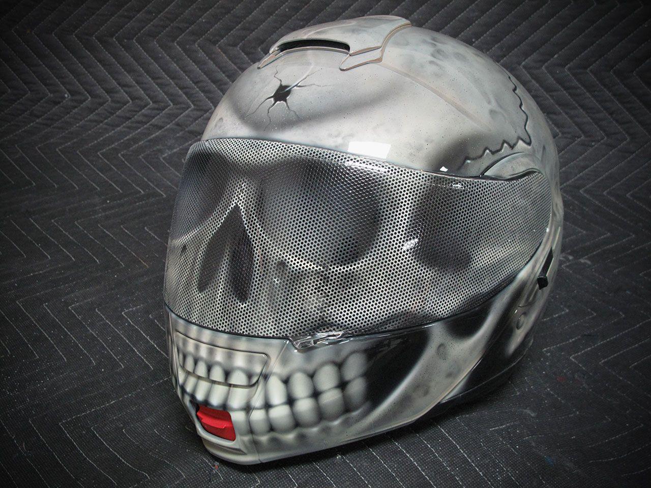 skull paint helmet - Pesquisa Google