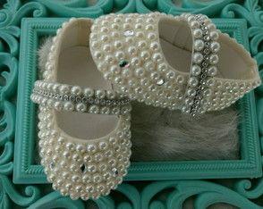64e40211f sapato-perola-sapato-cor-perola | Coisas para comprar | Baby Shoes ...