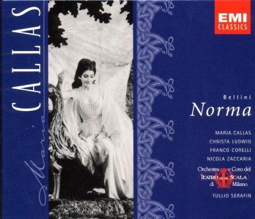 Bellini Norma Maria Callas Ludwig Corelli Zaccaria Teatro Alla Scala Serafin Orchestra E Coro Del Teatro Alla S Maria Callas Bellini Classical Music