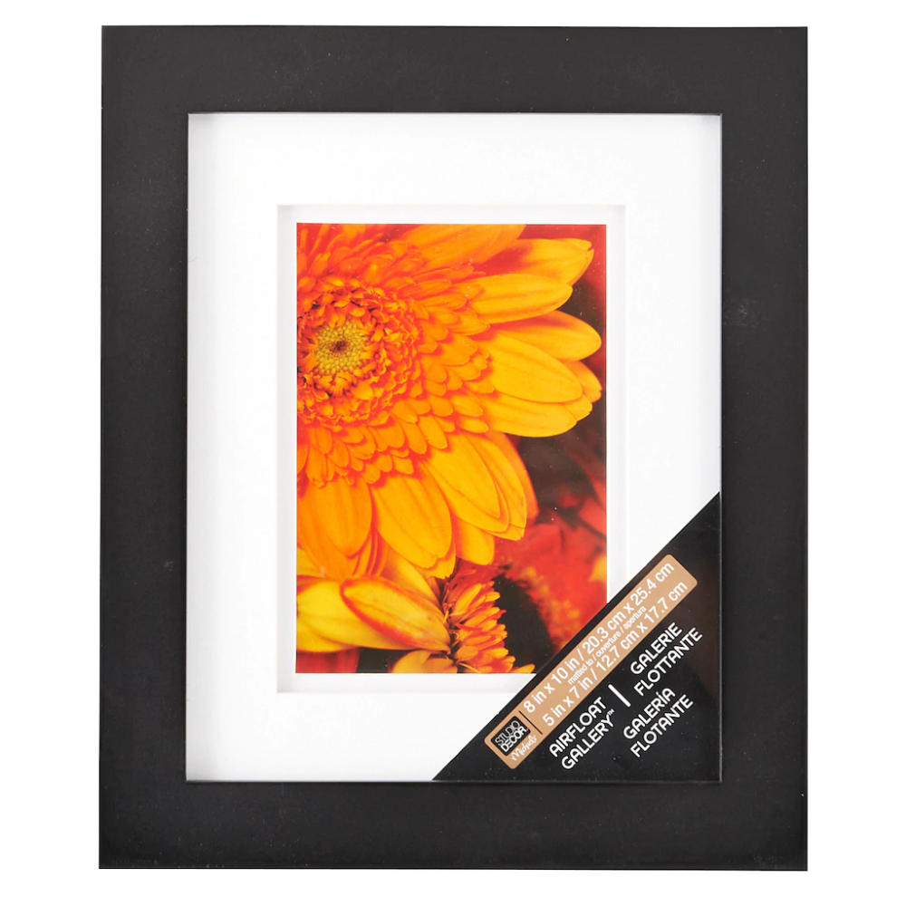 Black Gallery Frame With Double Mat By Studio Decor Studio Decor Frames Studio Decor Gallery Frame