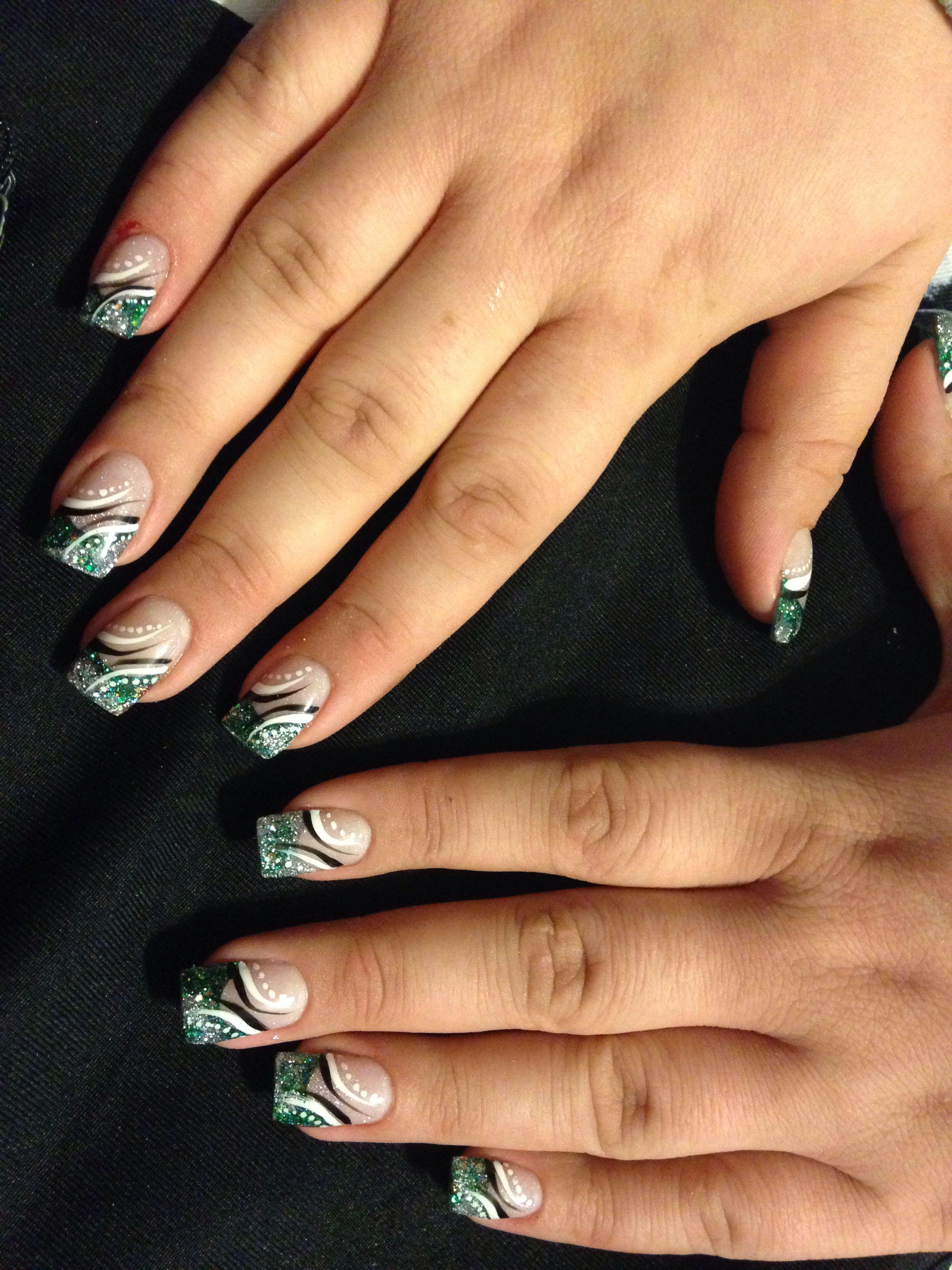 Acrylic nails | Nails | Pinterest | Fun nails, Nice nail designs and ...