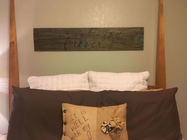From Wood Slat To Wall Plaque