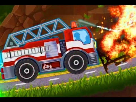 fire truck cartoons for kids car games baby cars