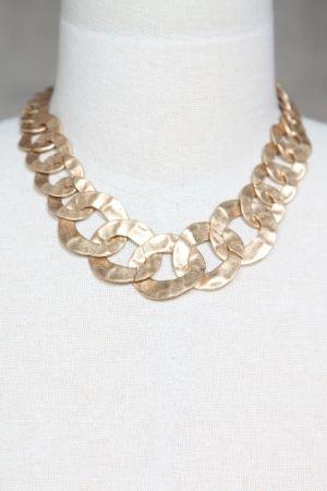 Gold Chain Necklace $27 Mikkat Market