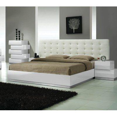 Orren Ellis Craft Bed Upholstered Size: Eastern King   Products ...