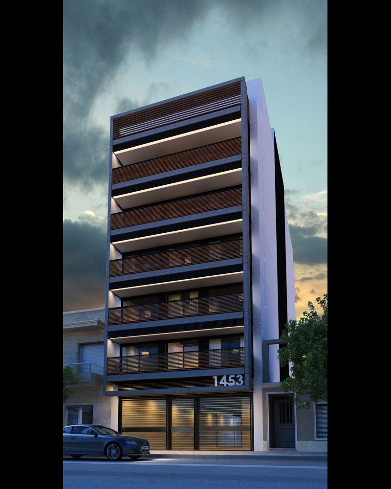 Amba residenciales entre medianeras p gina 268 for Arquitectura departamentos modernos
