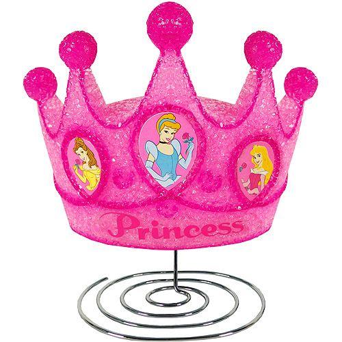 Disney Princess Crown Eva Pink Night Lamp