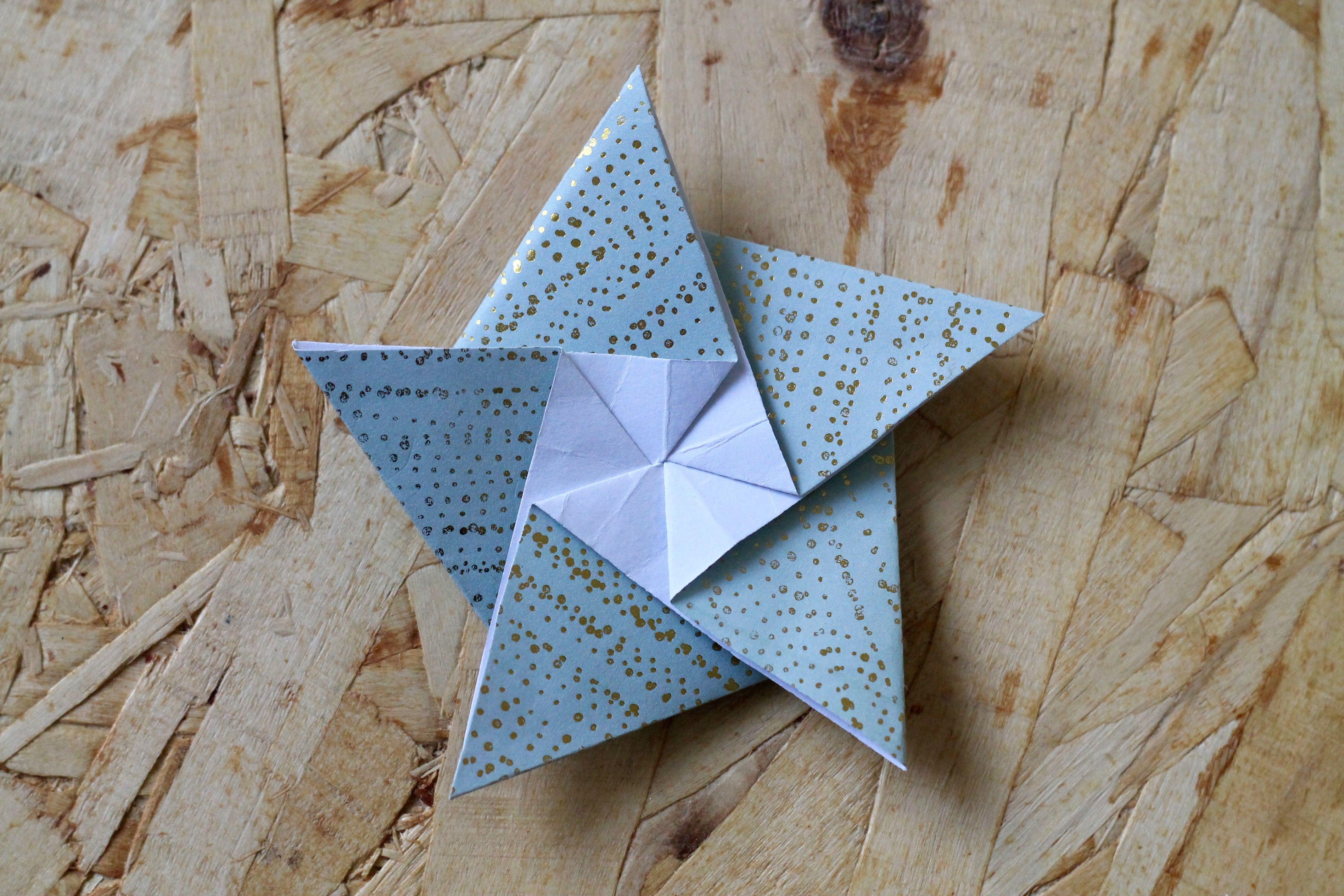 foldede stjerner