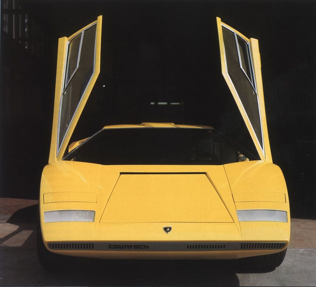 1971 Lamborghini Countach Designed By Gandini
