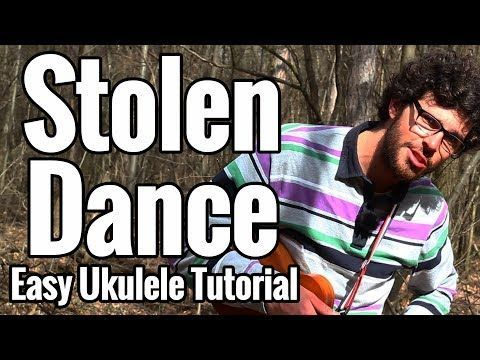 1 Stolen Dance Ukulele Tutorial With Easy Play Along Milky