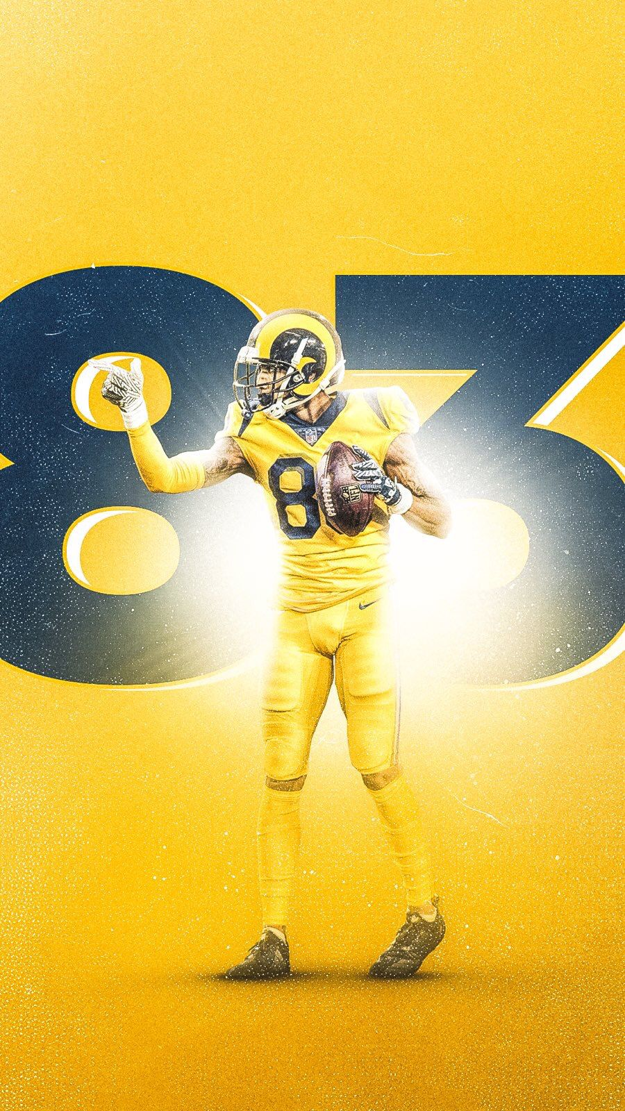 Pin By Mariana Lopez On La Rams Sports Graphic Design Nfl Football Players Rams Football