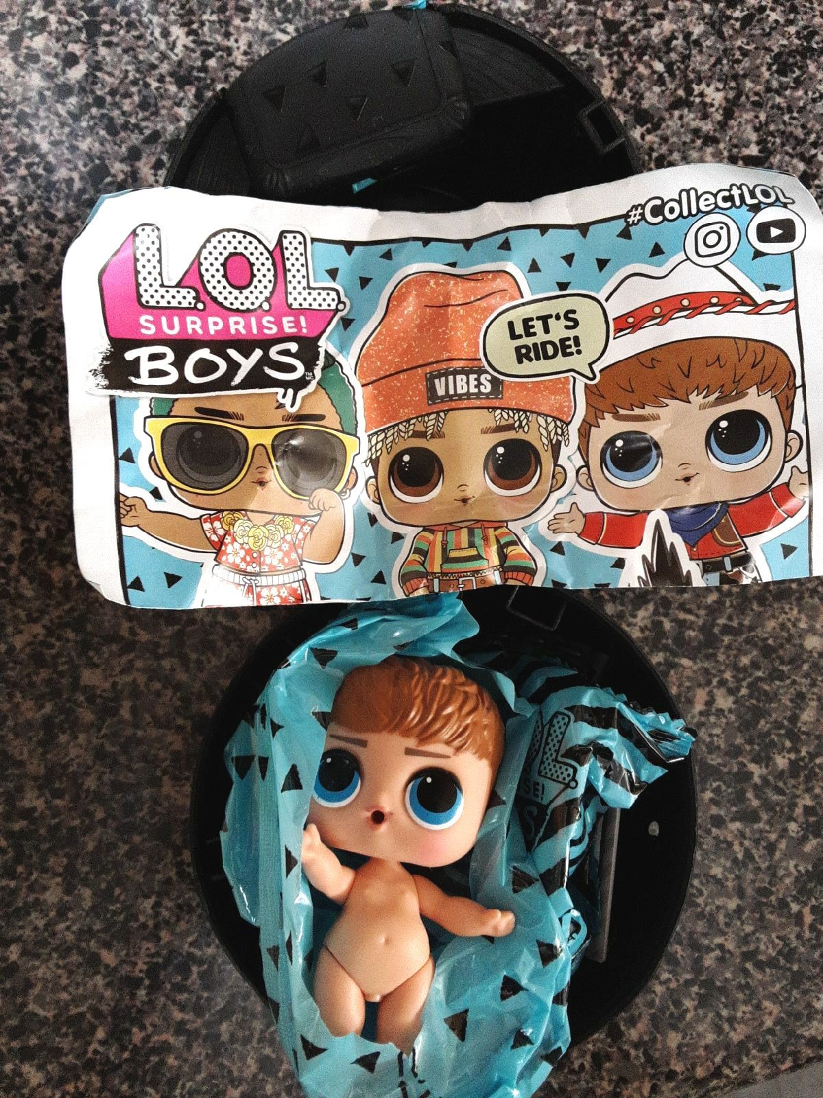 New LOL Surprise Doll BOYS Series 1           •DO-SI-DUDE•