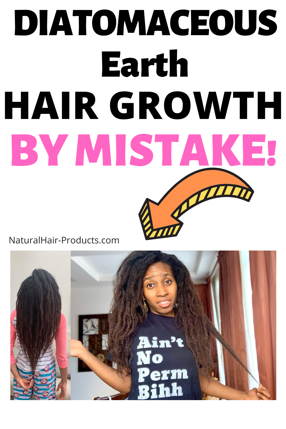 I wasn't even TRYING. Click to see my fast hair growth