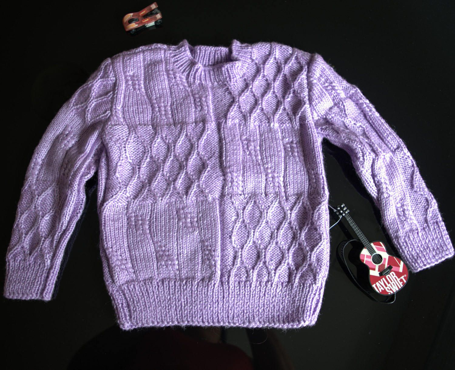 Hand Knitted Baby Pullover Sweater Cardigan Baby Girls Clothes
