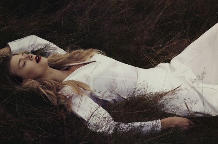 Kelli Lumi By Chad Pickard + Paul Mclean For Commons And Sense Magazine YSL Special
