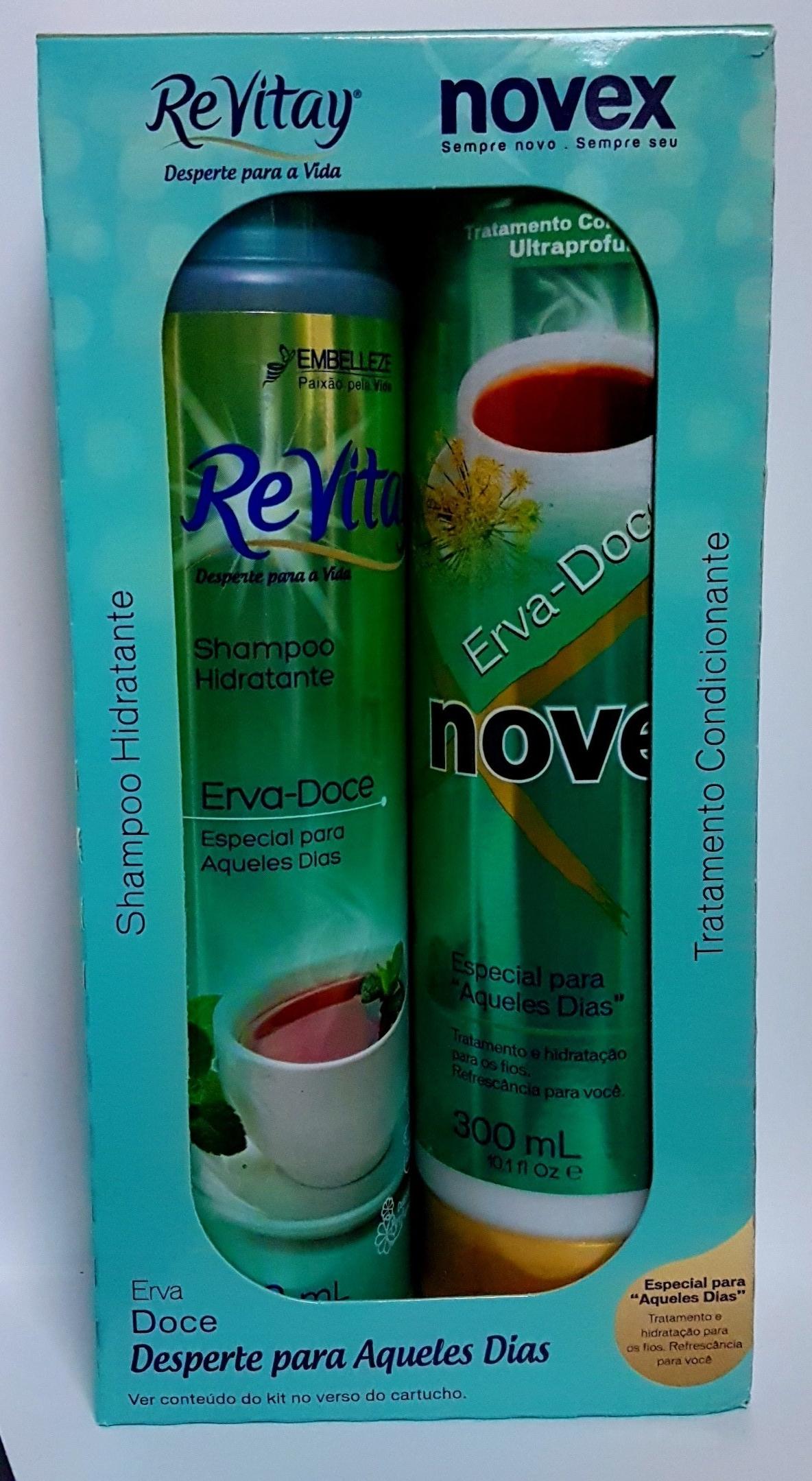 NOVEX, ERVA DOCE SET (SCALP REBALANCING) Shampoo, Oily