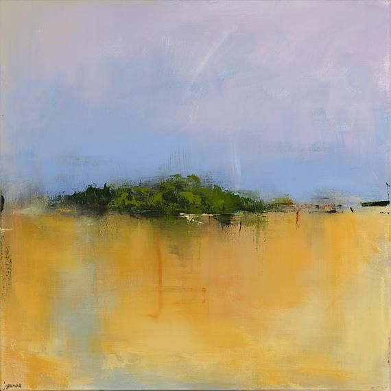 Ready To Hang Minimalist Abstract Landscape Canvas Print Abstract Landscape Painting Abstract Art Landscape Abstract Landscape